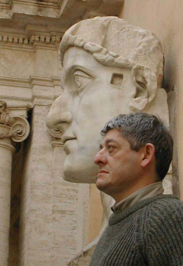 Какая дерзкая скотина ваяла профиль Константина?