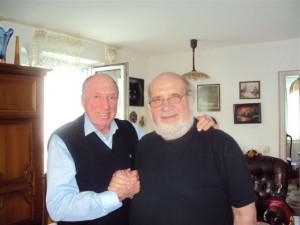 Сергей Юрский и Зиновий Сагалов